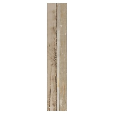 Urban 6 x 36 Porcelain Wood Look Tile in Beige