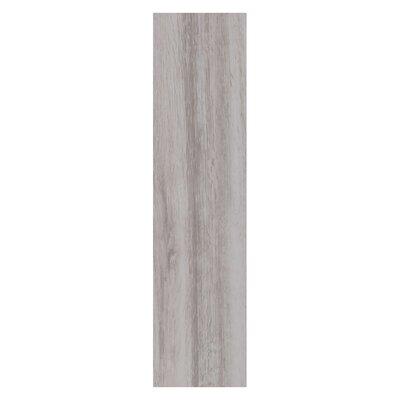 """Real Wood 6"""" X 24"""" Porcelain Wood Look Tile In Abete"""