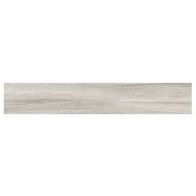 Naturalia Pioppo 6 x 36 Porcelain Wood Look Tile in Gray
