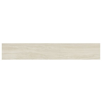 Naturalia Betulla 6 x 36 Porcelain Wood Look Tile in White