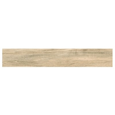 Naturalia Nocciola 6 x 36 Porcelain Wood Look Tile in Nut