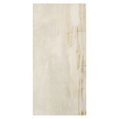 Waterfall Jog 12 x 24 Porcelain Wood Look Tile in Beige