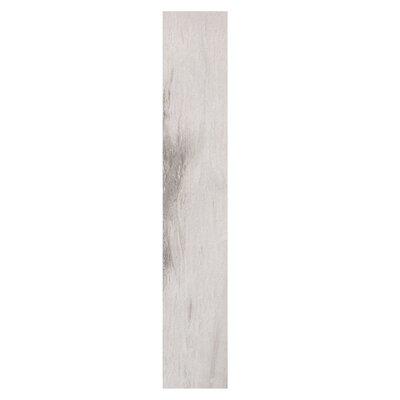 Waterfall Niagara 6 x 36 Porcelain Wood Look Tile in Light Gray
