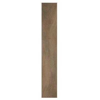 Kauri Nat Kaimai 8 x 48 Porcelain Wood Look Tile in Brown