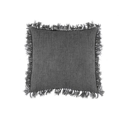 Cropper Indoor Cotton Throw Pillow Color: Gray