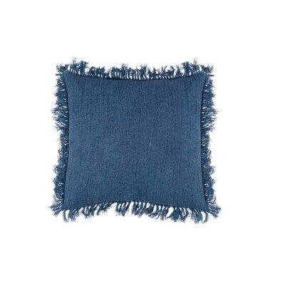 Cropper Indoor Cotton Throw Pillow Color: Indigo