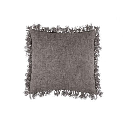 Cropper Indoor Cotton Throw Pillow Color: Bark