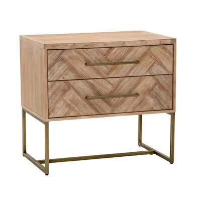 Coursey Nightstand Color: Stone