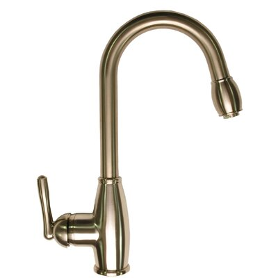 Pull-Down Touch Single Handle Kitchen Faucet with Side Spray