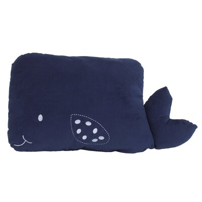 Ebert Whale Throw Pillow