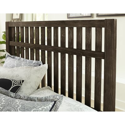 Hernandez Slat Headboard Size: Queen, Color: Coffee