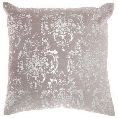 Kollman Cotton Throw Pillow Color: Light Gray