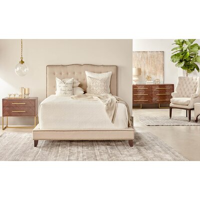 Coursey Upholstery Bed Size: California King