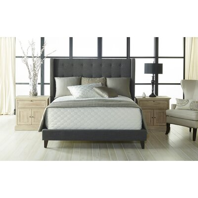 Gatti Upholstery Bed Size: California King
