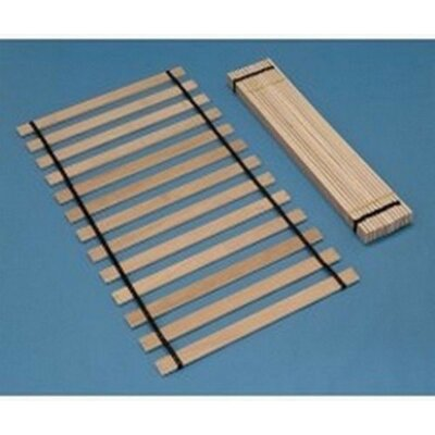 Kimbell Slat Roll Size: Queen, Weight Capacity: 775