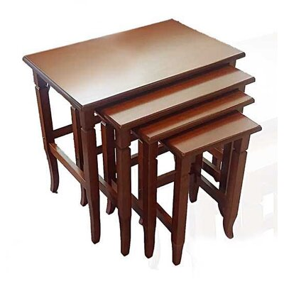 Chou 4 Piece Nesting Tables