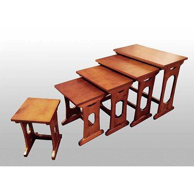 Choudhury 5 Piece Nesting Tables