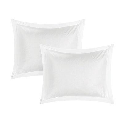 Kuebler Sand Sham Color: White