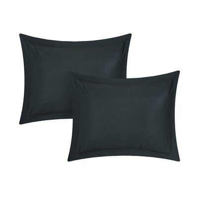 Kuebler Sand Sham Color: Black
