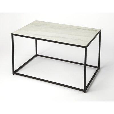Gettys Marble/Metal Coffee Table