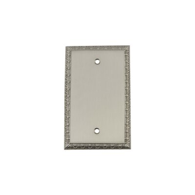 Egg & Dart Light Socket Plate Finish: Satin Nickel