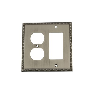 Egg & Dart Light Switch Plate Finish: Antique Pewter