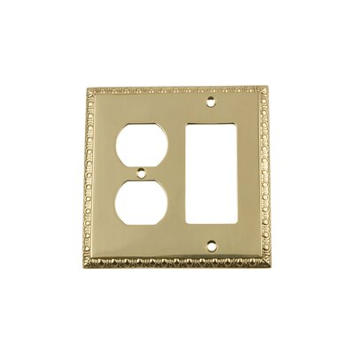 Egg & Dart Light Switch Plate Finish: Polished Brass