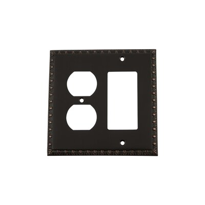 Egg & Dart Light Switch Plate Finish: Timeless Bronze