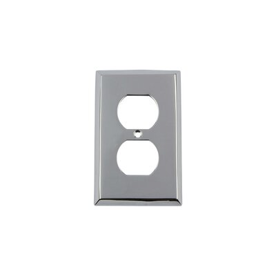 New York Light Switch Plate Finish: Bright Chrome