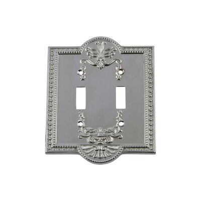 Meadows Light Switch Plate Finish: Bright Chrome