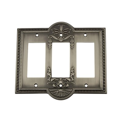 Meadows Light Switch Plate Finish: Antique Pewter