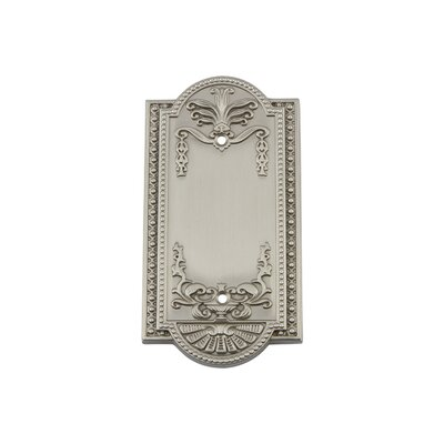 Meadows Light Socket Plate Finish: Satin Nickel