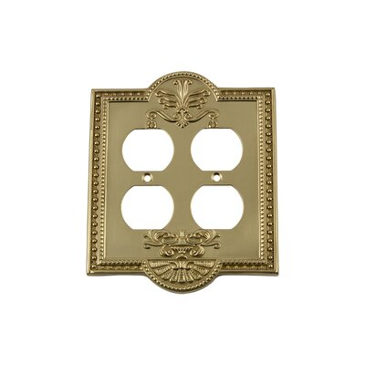 Meadows Light Switch Plate Finish: Polished Brass