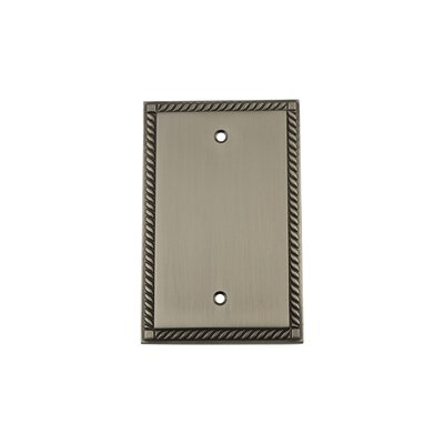 Rope Light Socket Plate Finish: Antique Pewter