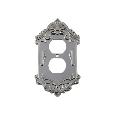 Victorian Light Switch Plate Finish: Bright Chrome