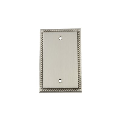 Rope Light Socket Plate Finish: Satin Nickel