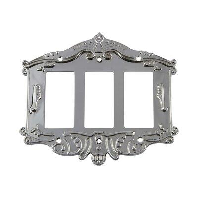 Victorian Light Switch Plate Finish: Bright Chrome