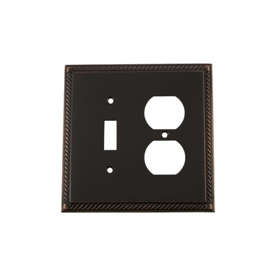 Rope Light Switch Plate Finish: Timeless Bronze