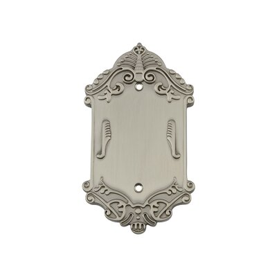 Victorian Light Socket Plate Finish: Satin Nickel