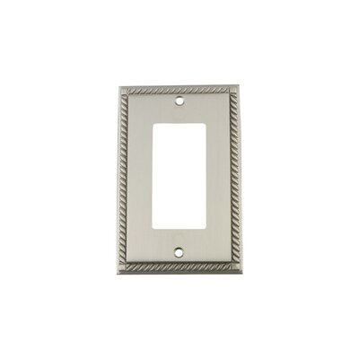 Rope Light Switch Plate Finish: Satin Nickel