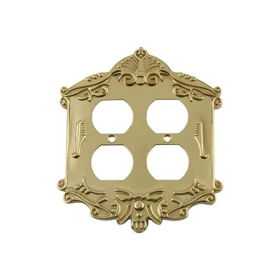 Victorian Light Switch Plate Finish: Polished Brass