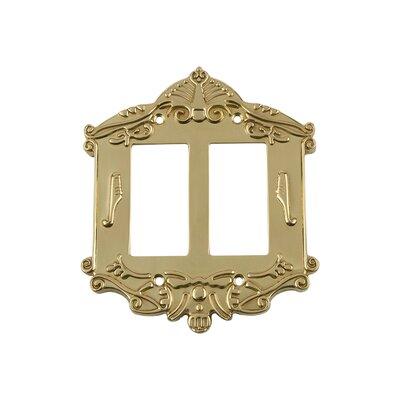 Victorian Light Switch Plate Finish: Polished Brass
