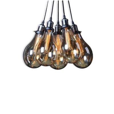 Courtdale Shadow 5-Light Cluster Pendant