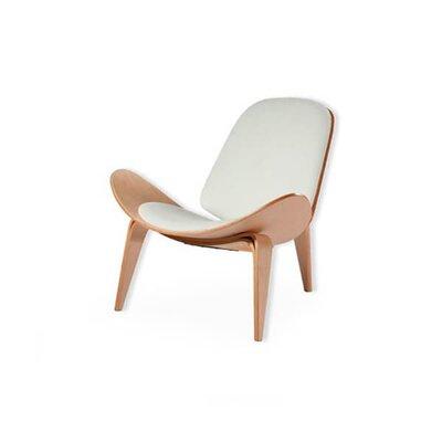 Wyble White Moon Lounge Chair