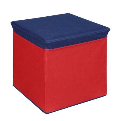 Ducote Storage Ottoman Color: Red