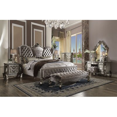 Malmberg Panel Bed Size: California King