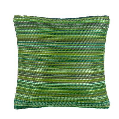 Sedlak Outdoor Throw Pillow Size: 20 x 20, Color: Green