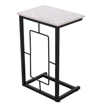 Arwood End Table Table Top Color: Gray