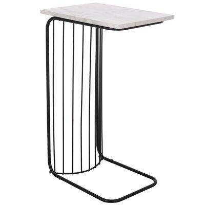 Arzola End Table Table Top Color: Gray