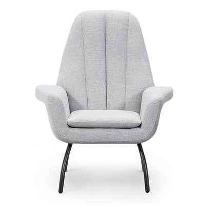 Gil Armchair Upholstery: Light Gray